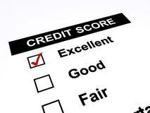 Kredietscore stock illustratie