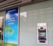 Kredit Agricole-Bank Lizenzfreie Stockfotografie