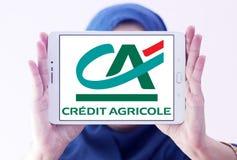 Kredit agricole Banklogo Stockbilder