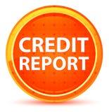 Kreditauskunft-natürlicher orange runder Knopf stock abbildung