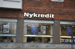 Kreditbank Royalty-vrije Stock Foto's