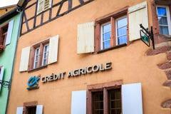 Kreditering Agricole Royaltyfri Bild