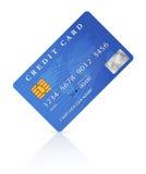 Krediterings- eller debiteringkortdesign Arkivbild