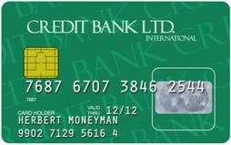 Kreditkarte Lizenzfreie Stockbilder