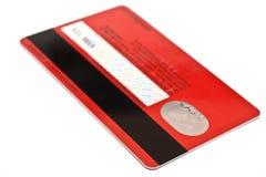 Kreditkarte Lizenzfreies Stockfoto