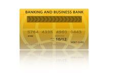 Kreditkarte Lizenzfreie Stockfotografie