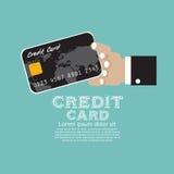 Kreditkarte. Stockbild