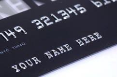 Kreditkarte Lizenzfreies Stockbild
