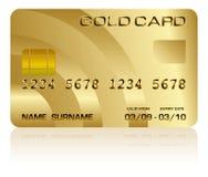 Kreditkarte Stockbild