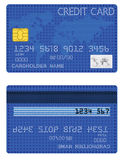 Kreditkarte der Sterne Stockfotografie