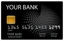 Kreditkarte für Ihre Querneigung Lizenzfreies Stockbild