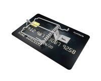 Kreditkarte-Falle lizenzfreie abbildung
