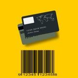 Kreditkarte, on-line-Einkaufen lizenzfreie stockfotografie