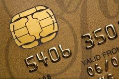 Kreditkarte-Nahaufnahme stockbild