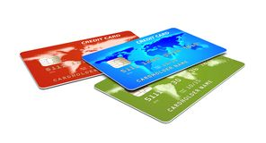 Kreditkarte s Lizenzfreie Stockbilder