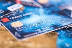 Kreditkarte s Lizenzfreies Stockbild