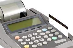 Kreditkarte und Maschine Lizenzfreies Stockbild