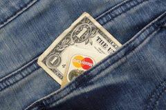 Kreditkarte und Pass Lizenzfreie Stockbilder