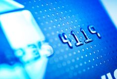 Kreditkarte-Zahlungen Stockfotos