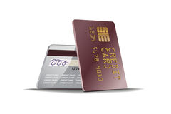 Kreditkarteabbildung stock abbildung