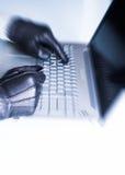 Kreditkartediebstahl Lizenzfreies Stockfoto