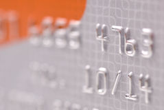 Kreditkartehintergrund Lizenzfreie Stockbilder