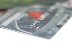 Kreditkarten Lizenzfreies Stockbild