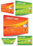 Kreditkarten Stockfotografie