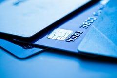 Kreditkarten lizenzfreie stockfotos
