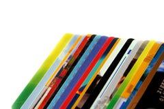 Kreditkarten Lizenzfreie Stockfotografie