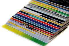 Kreditkarten stockbilder