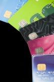 Kreditkarten. Stockbild