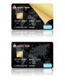 Kreditkarten. Vektorabbildung. Lizenzfreies Stockbild