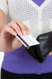 Kreditkauf Lizenzfreies Stockfoto