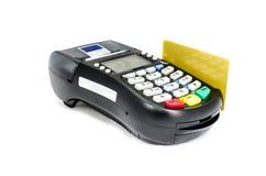 Kreditkort Arkivfoto