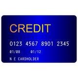 Kreditkort arkivbilder