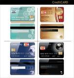 Kreditkortar Royaltyfria Bilder