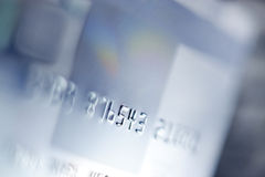Kreditkortbakgrund Arkivfoton