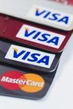 Kreditkorten Fotografering för Bildbyråer