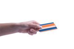 kreditkortshopping royaltyfri bild