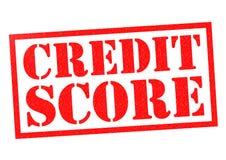 Kreditscore lizenzfreie abbildung
