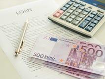 Kreditvaluta Lizenzfreies Stockbild