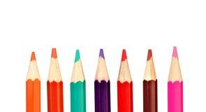 Kredka barwioni ołówki zdjęcia stock