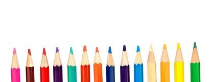 Kredka barwioni ołówki obrazy stock