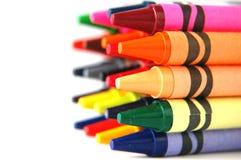 kredki barwione Obrazy Stock