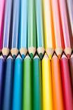 kredki kolorowe ołówki kolor tła asortymentu kolorowe ołówki Fotografia Stock