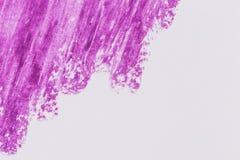 kredkowej ręki rysunkowa purpurowa tekstura Zdjęcie Royalty Free