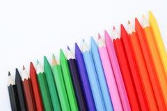 Kredkowy kolor Zdjęcia Stock