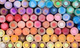 kredkowy ołówek makro Obraz Stock