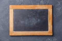 Kredowej deski kopii przestrzeń Obraz Stock